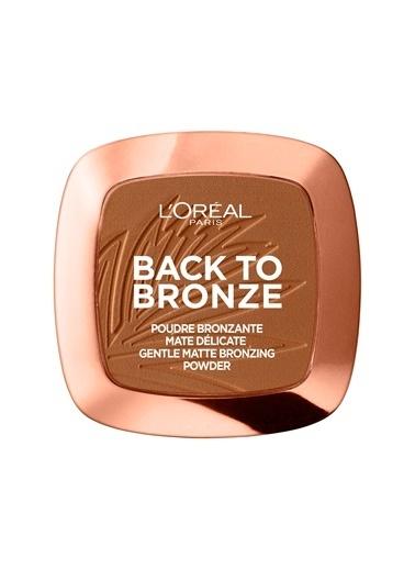 L'Oréal Paris Back To Bronze Mat Bronzlaştırıcı Pudra Bronz
